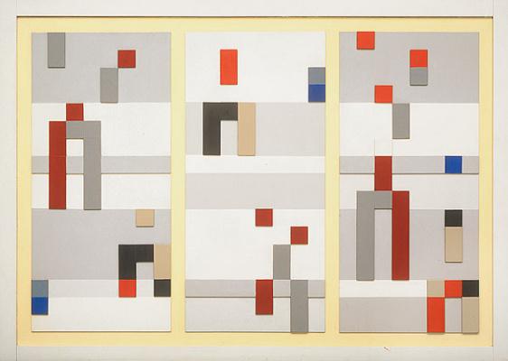 Софи Тойбер-Арп. Вертикальная и горизонтальная композиция