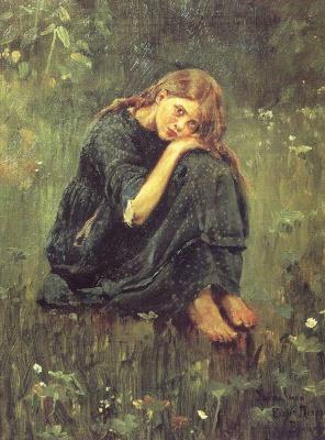 Victor Mikhailovich Vasnetsov. Alyonushka (sketch)
