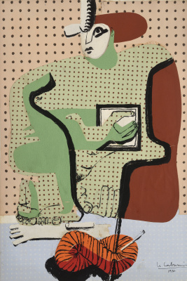 Le Corbusier. A woman reading