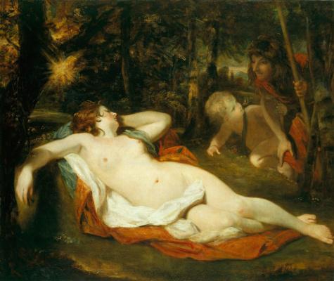 Joshua Reynolds. Simon and Iphigenia