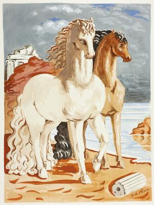 Giorgio de Chirico. Horses
