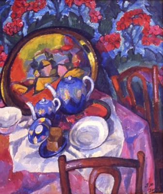 Vasily Vasilievich Rozhdestvensky. Tableware