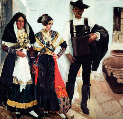 Хоакин Соролья (Соройя). Жители Саламанки