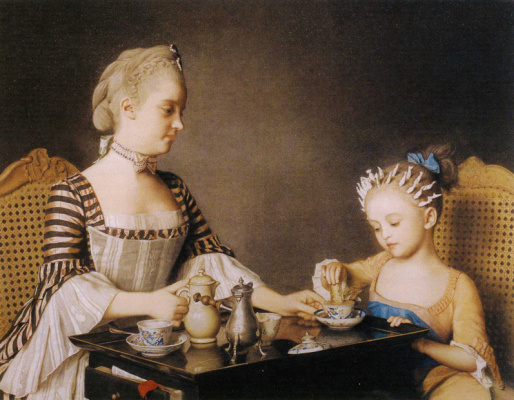 Jean-Etienne Liotard. Breakfast