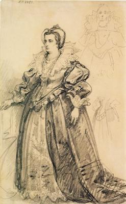 Ян Матейко. Мария де Медичи, вторая жена Генриха IV