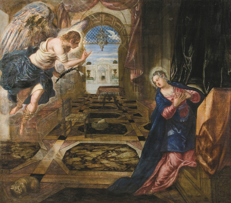 Jacopo (Robusti) Tintoretto. Annunciation