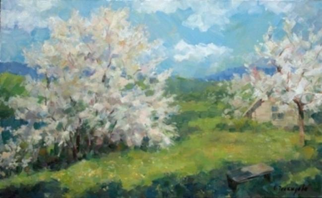 Ольга Александровна Ческидова. Цветущий сад