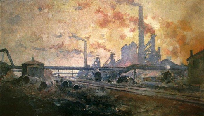Alexander Vasilyevich Kuprin. Dnepropetrovsk metallurgical plant