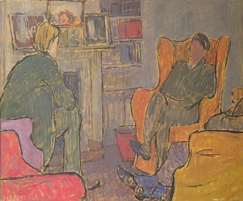 Vanessa Bell. The conversation in the Ash house