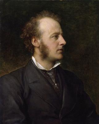 George Frederick Watts. Painter John Everett Millet