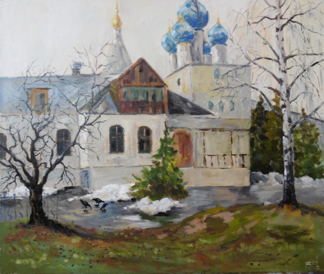 Elena Vyazemskaya. The snow is gone