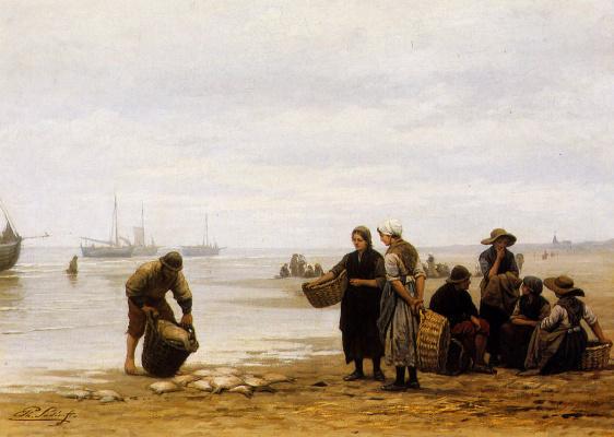 Начало прибытия флота