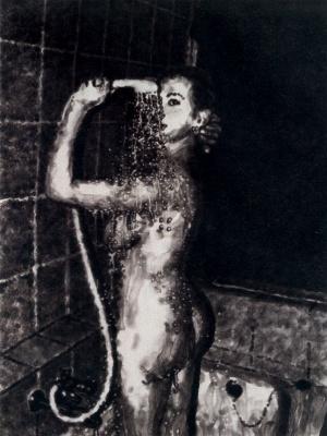 Иржи Георг Докоупил. Под душем