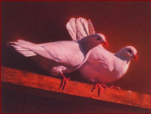 Нэнси Хоу. Два голубя