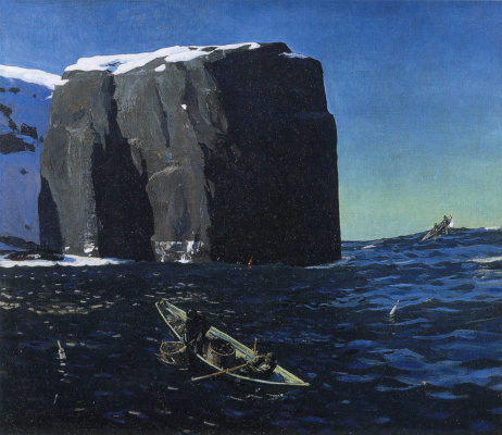 Rockwell Kent. Toilers of the sea