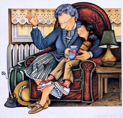 Дорис Баретт. Бабушка