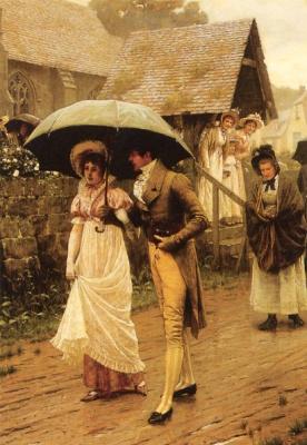 Edmund Blair Layton. A wet Sunday morning
