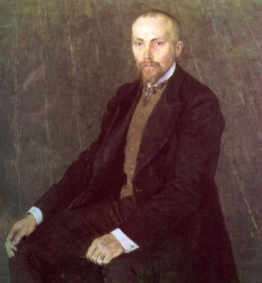 Alexander Yakovlevich Golovin. Portrait of the artist N. K. Roerich
