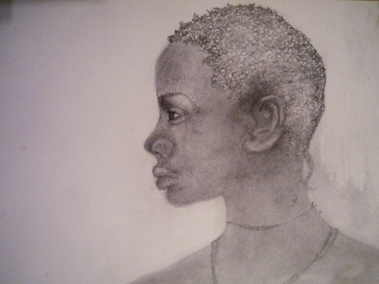 Татьяна Сухарева. African girl