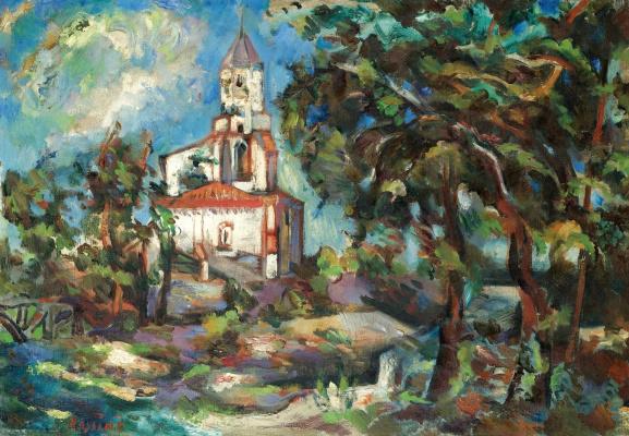 Владимир Давидович Баранов-Россине. Церковь