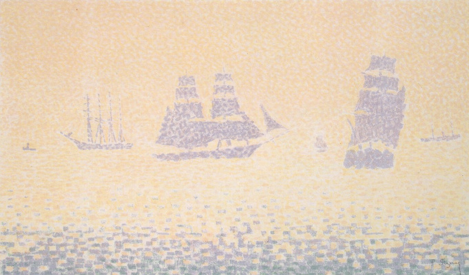Paul Signac. Ship