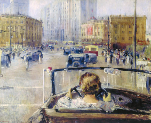 Yuri Ivanovich Pimenov. New Moscow