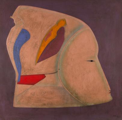 Michael Shemyakin. Metaphysical head. 1980
