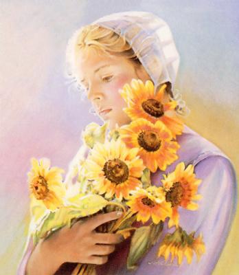 Nancy Noel. Sunflowers