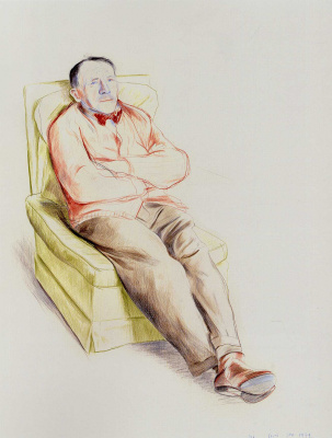 David Hockney. My father
