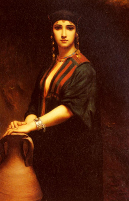 Георг Розен. Портрет женщины