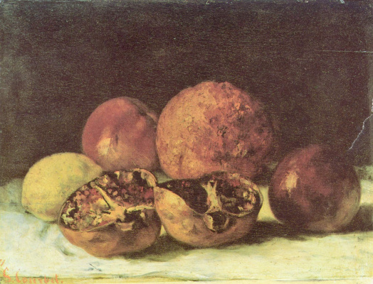 Gustave Courbet. Grenades
