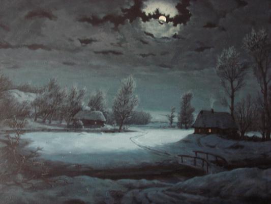 Анатолий Петрович Кондратенко. Луна