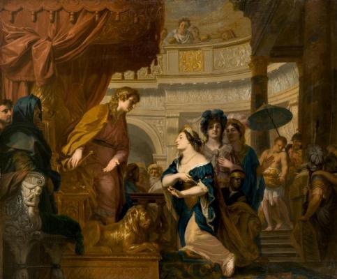 Герард де Лересс. Царица Савская перед царем Соломоном