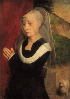Portrait of the donor,