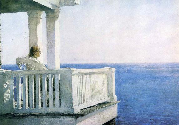 Джейми Уайет. Балкон