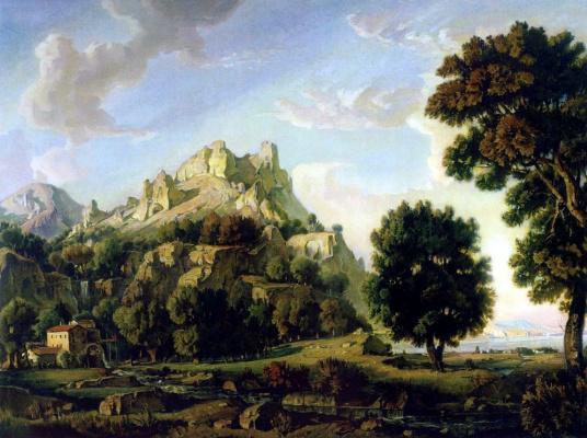Konstantin Fedorovich Bogaevsky. Crimean landscape