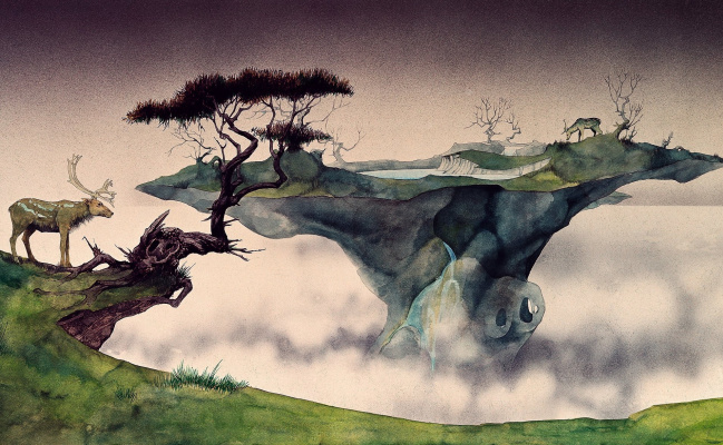 Roger Dean. The plot to the music (2)