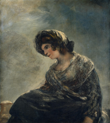 Francisco Goya. Thrush from Bordeaux