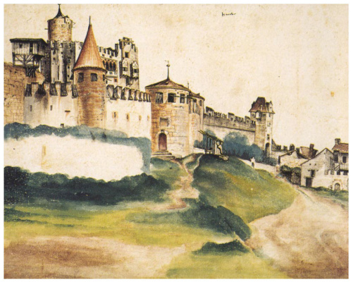 Albrecht Durer. Castle Of Trento
