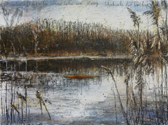 Anselm Kiefer. For Velimir Khlebnikov. New theory of wars. The fates of nations