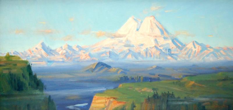 Yuri Nikolaevich Volkov. Elbrus