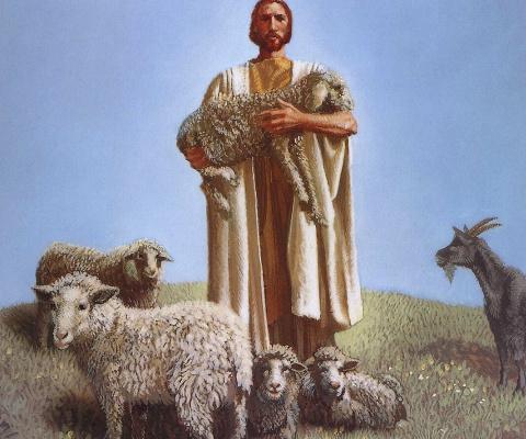 James Christensen. The good shepherd