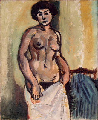 Henri Matisse. Nude Woman