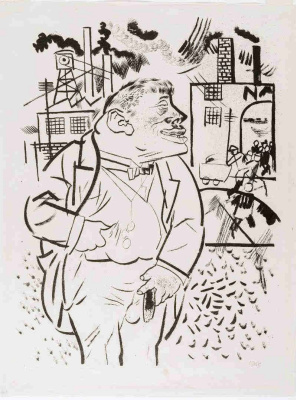 George Grosz. Boss