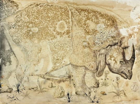 Salvador Dali. Rhinoceros