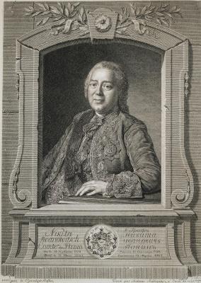 Антуан Радиг. Портрет графа Никиты Ивановича Панина