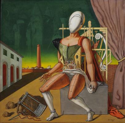 Giorgio de Chirico. Orpheus - Tired Troubadour