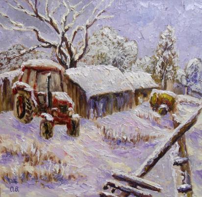 Владимир Иванович Осипов. Winter sleep,30-30, D. M., ©, G. 01.18