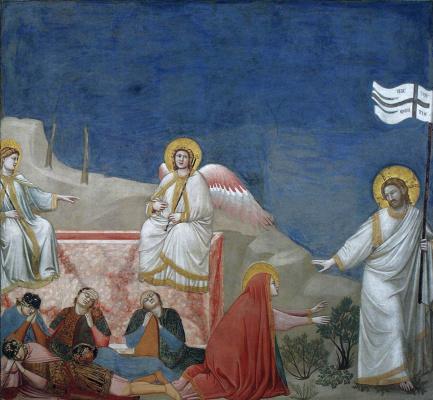 Giotto di Bondone. Sunday. Scenes from the life of Christ