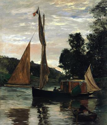 Charles-Francois Daubigny. Botan No.